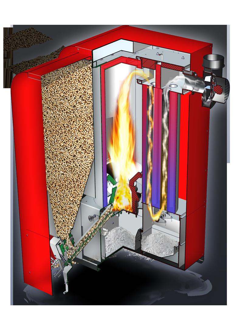 Spaccato caldaia EcoLogic